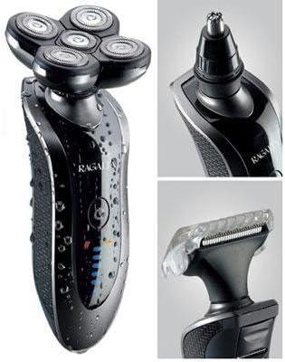 Ragalta RTPF-4000 Máquina de afeitar de láminas Recortadora - Afeitadora (Máquina de afeitar de láminas, Batería, 4 h): Amazon.es: Hogar