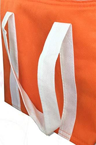 Sac Le Travail Pique Isolé Non Multicolore Et Tissé orange Lunch À nique Pour L'école Bellecita AHdnq01Aa