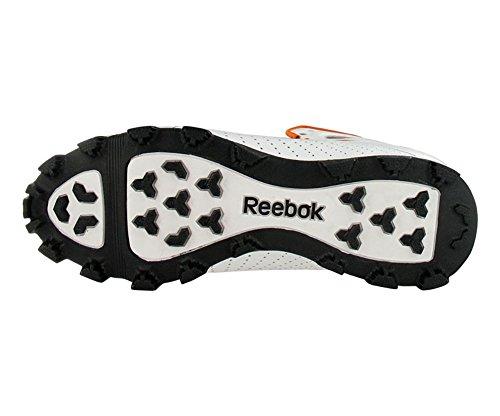 Zapatillas De Fútbol Reebok Hombres Pro Burner Speed iii Low Sd3 (14, Blanco / Naranja)
