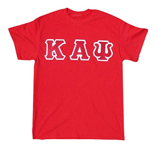 Mega Greek Mens Kappa Alpha Psi Letter T-Shirt