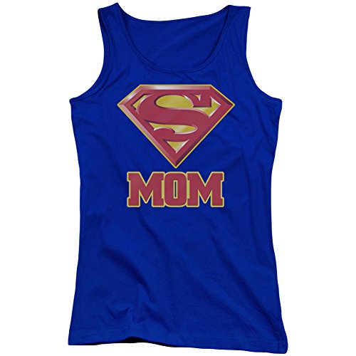 Superman+tank+tops Products : Superman Women's Super Mom Womens Tank Blue