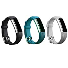 Fitbit Alta Buckle Bracelet, Newest Replacement Wristband With Watch Buckle Design for Fitbit Alta (No Tracker)