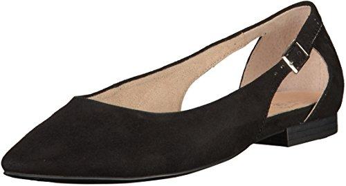 Caprice Women's 22111 Ballet Flats Black D5Y7n0V9hn