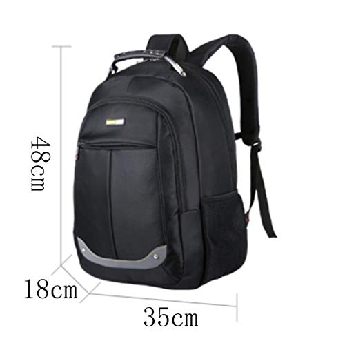 Dhfud Bag Laptop Waterproof Men's Casual Backpack Winered Fashion Simplicity Business rnrYZx