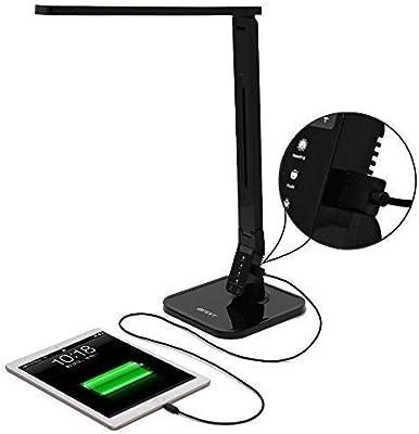 ANNT® Lámpara LED de Escritorio Control Táctil, Flexo, Lámpara de ...