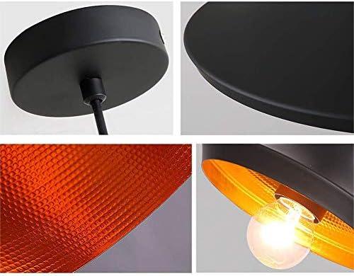 NBVCX Life Accessories Rétro Suspension Luminaire Plafonnier en Aluminium Lustre Vintage Lampe Industrielle en Métal Salle À Manger Et Chambre E27 (sans Ampoule)