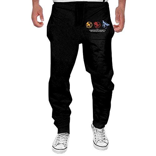Elizabeth Banks Hunger Games Costumes (OC-Pant Men's The Hunger Games Workout Pants XXL)