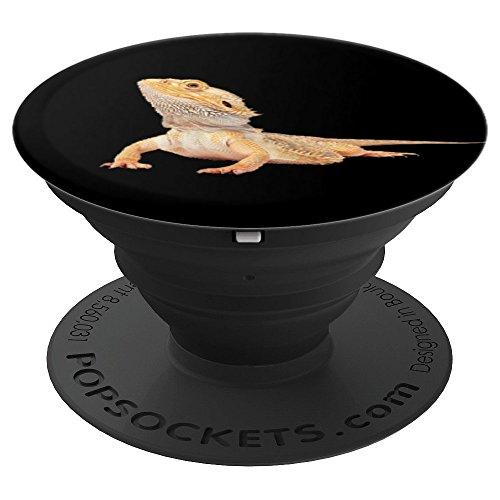 Bearded Dragon Reptile Accessory - PopSockets Grip and Stand for Phones and Tablets]()