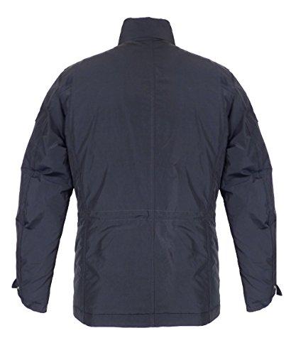 Woolrich Blu Navy Hudson Pelliccia Field giacca AT6wBTrX