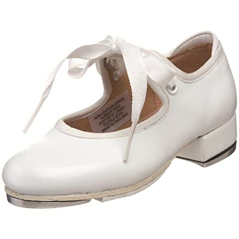 Bloch Dance Annie Tyette Tap Shoe (Toddler/Little Kid/Big Kid),White,12 M US Little Kid