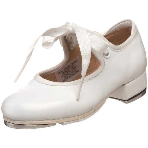 Bloch Dance Annie Tyette Tap Shoe ,White,8 M US Big Kid