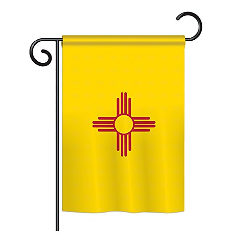 "Ornament Collection G191532-BO New Mexico Americana States Impressions Decorative Vertical 13"" x 18.5"" Double Sided Garden Flag Printed in USA Multi-Color"