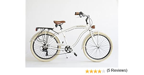 Via Veneto - Bicicleta, Hombre, blanco: Amazon.es: Deportes y aire ...