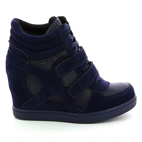 Go Tendance - Zapatillas altas Mujer , azul (azul), 36
