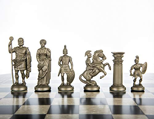 Chess and games shop Muba Plastic Chess Pieces RomanLegion 3 3/4