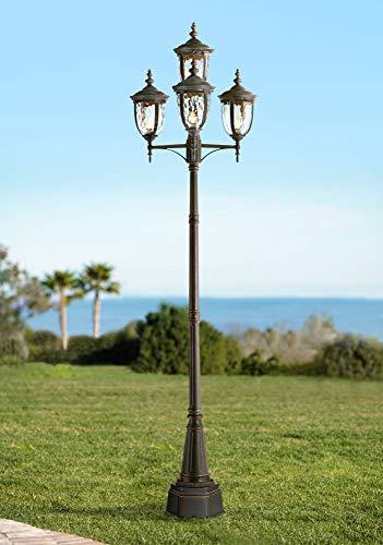 (Bellagio Outdoor Post Light Veranda Bronze 102