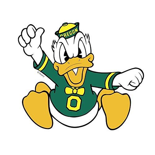 Crazy Discount Oregon Ducks NCAA Vinyl Sticker Decal Outside Inside Using for Laptops Water Bottles Cars Trucks Bumpers Walls, 3