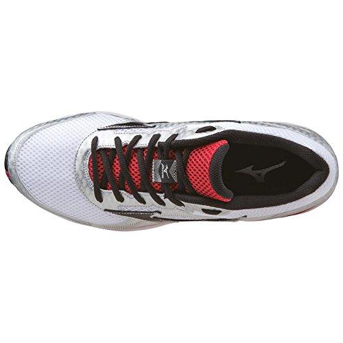 Mizuno Crusader 9 Zapatillas Para Correr - AW15 Blanco / Plateado