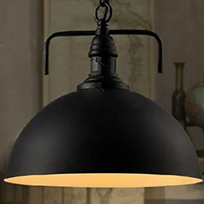 CLAXY® Ecopower Industrial Elegant Shade Modern1 Light Pendant Lamp with Chain