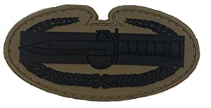 Subdued Us Army Combat Action Pvc Badge