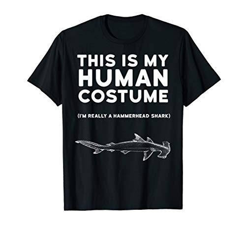 This Is My Human Costume Hammerhead Shark Halloween Shirt