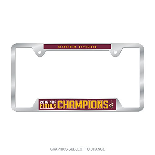 Cleveland Cavaliers 2016 NBA Finals Champions Metal License Plate Frame by WinCraft