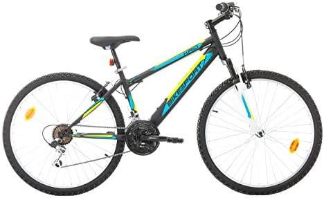 VTT Bicicleta de montaña de 26 Pulgadas, Horquilla telescópica, 21 ...