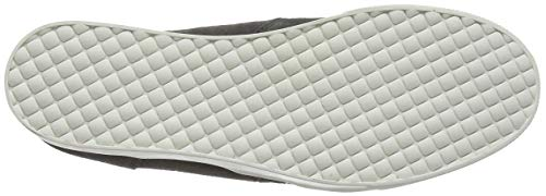 Grigio Wedgie Donna a Collo Sneaker Suede Alto Steve 615 Madden Grey Tx707P