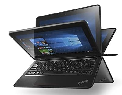 "2016 Newest Lenovo Thinkpad Yoga 11E 11.6"" Touchscreen 1366x768 Convertible Ultrabook, Intel N3150 Quad-Core 1.6 GHz, 128GB SSD, 4GB RAM, 802.11ac, Bluetooth, HDMI, HD webcam, Win10 Pro 64-bit"