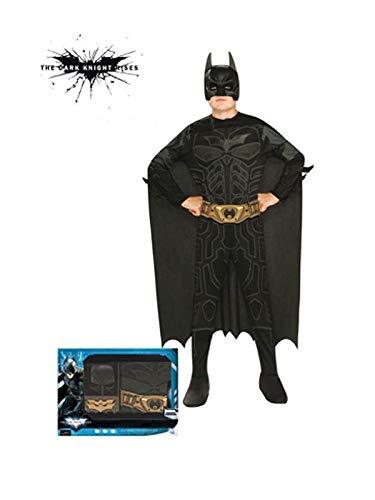 DISBACANAL Disfraz Batman niño Pecho Estampado - Único, 8-10 ...