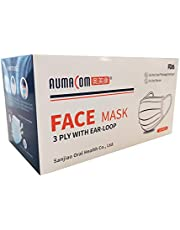 Aumacom 3PLY TGA Approved Dispoable Face Mask -50 pc (5 x Bag of 10)
