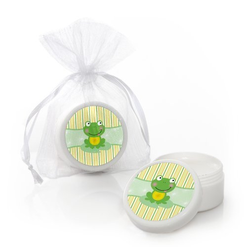 (Froggy Frog - Lip Balm Baby Shower or Birthday Party Favors - Set of 12)