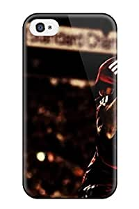 Durable Defender Case For Iphone 4/4s Tpu Cover(steven Gerrard4)