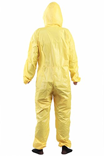 Breaking Yellow Bad Jumpsuit Male Light Cosplay Costume Custom Made L