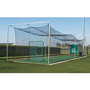 Amazon.com : Batting Cage Outdoor Frame with Installation ...