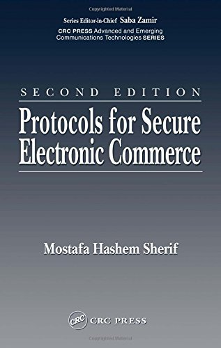 Protocols for Secure Electronic Commerce, Second Edition (Advanced & Emerging Communications Technologies) by Mostafa Hashem Sherif (2003-11-24)