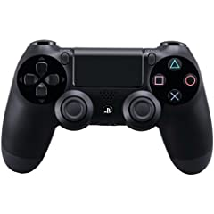 Complete Control  The DUALSHOCK 4 wireless controller features familiar controls while incorporating new ways to interact with games and other players. Improved dual analog sticks and trigger buttons offer an even greater sense of control, wh...