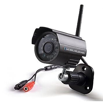Amazon.com: (2.4GHz Digital Wireless Seguridad Kit) 4 CH ...