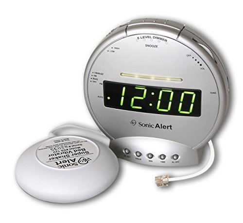 Sonic Boom SA-SBT425SS Alarm Clock with Telephone Signaler