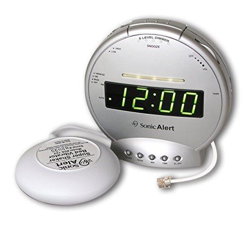 Sonic Boom SA-SBT425SS Alarm Clock with Telephone Signaler