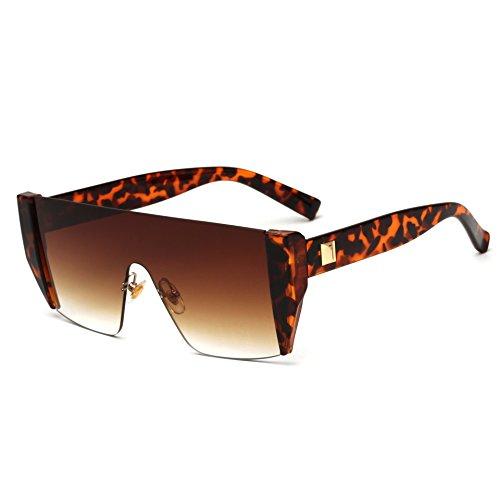 Hua Pequeñas double Hombres y Europeo de Sol c3 Tea tea Coloridas Diseño de para Gafas Gafas de Double Sol Gafas Vintage Estilo hua dou Americano c3 dou RDJM IqwRxO0O