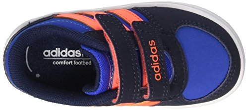 adidas Jungen Vs Hoops CMF Inf Krabbelschuhe mehrfarbig (Blue/Sorang/Conavy)