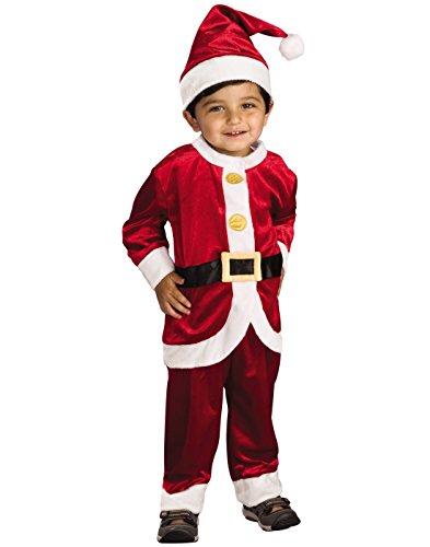 Child's Little Santa Costume, Toddler -