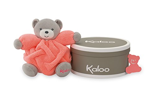 Kaloo Doudou Chubby Bear, Neon Orange, ()