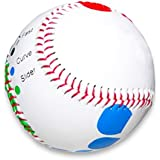 Baseball Pitching Trainer Kit -- Pitch Training Baseball with Detailed Grip Instructions