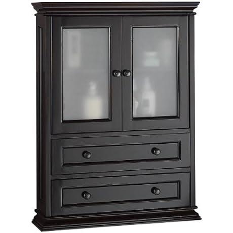Foremost BECW2331 Berkshire Espresso Bathroom Wall Cabinet