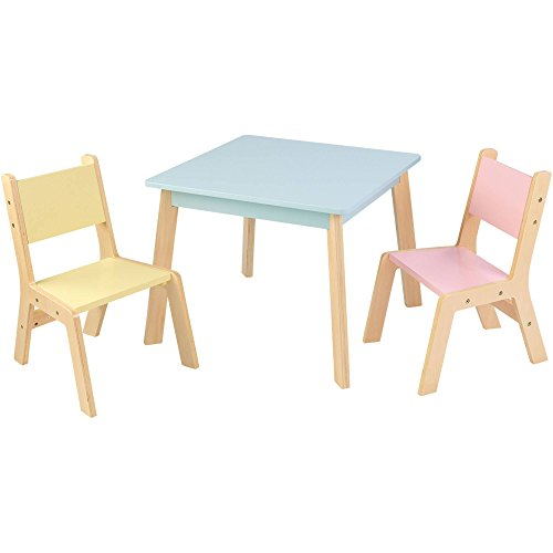 KidKraft Sturdy Modern Pastel Kids Table - Kidkraft Table With Primary Benches Shopping Results