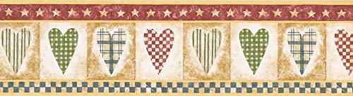 Heart Wallpaper Border NC76771 ()