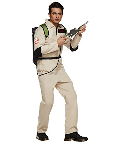 Ghostbusters Costumes For Men - Spirit Halloween Men's Ghostbusters One Piece