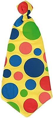 Corbata a topos de Payaso de 50x20 cm: Amazon.es: Juguetes y juegos